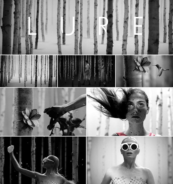 """Some visuals from the short film """"Lure"""", which was directed by Studioset for fashion designer Ioana Ciolacu."""