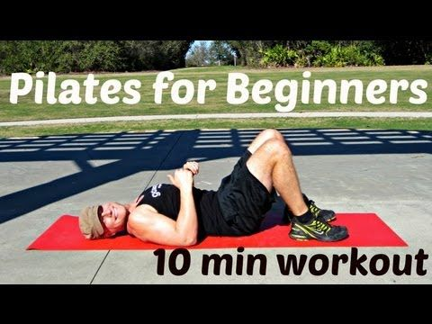 10 min Pilates for Total Beginners Workout - Sean Vigue Fitness