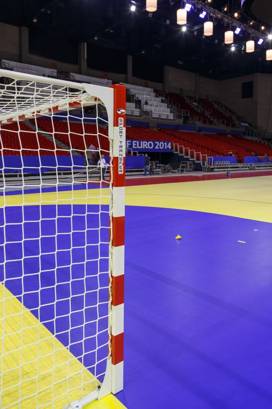 Papp László Budapest Sportaréna - Profesjonalne bramki do piłki ręcznej Sport Transfer. Professional Handball Goals Sport Transfer