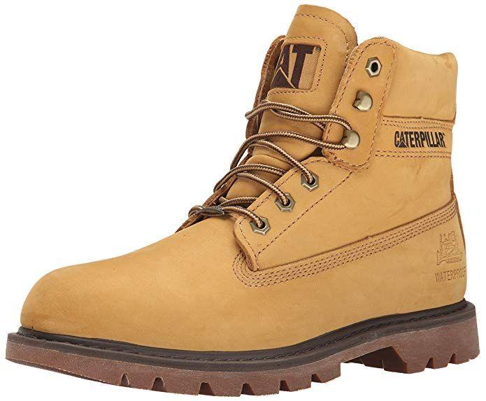 John Deere Mens 8 Brn Waterproof Farm//Wrk Nst LU Work Boot