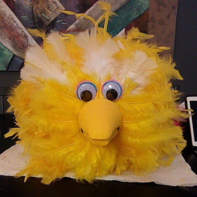 Big Bird!: It's hard to even tell that this Sesame Street-inspired creation was ever a pumpkin to begin with. It'll be the talk of the neighborhood!