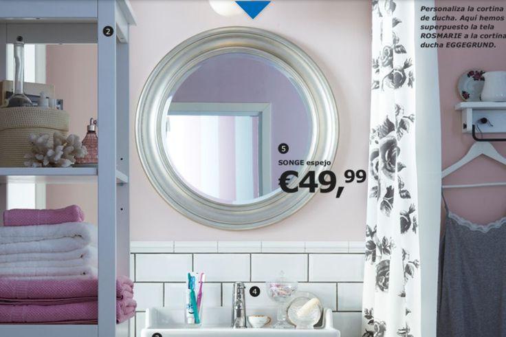 Espejo redondo para el ba o muy elegante casa - Espejo redondo bano ...