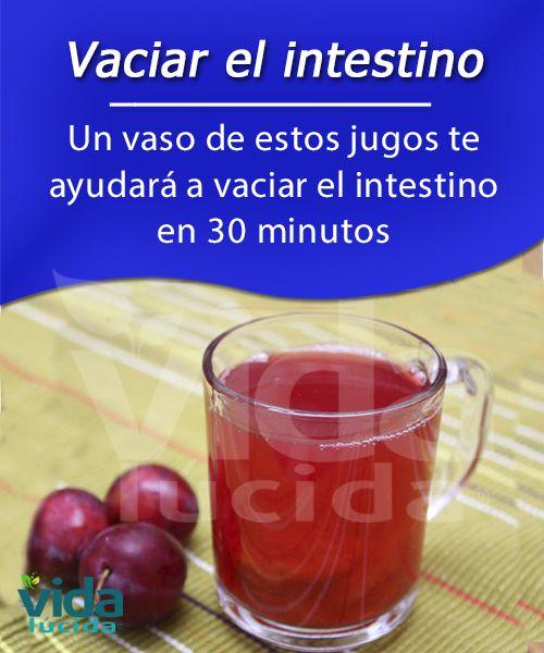 Un jugo muy potente que te ayudará a vaciar el intestino y lograr mejorar tu salud.