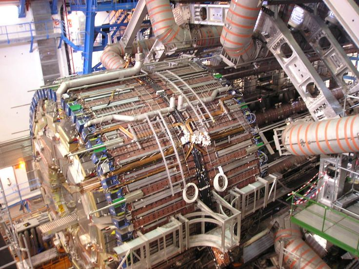 Pix of ATLAS Detector Installation at the CERN LHC