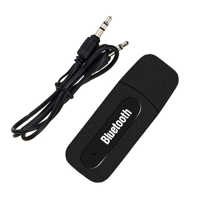 USB Car Bluetooth Aux Audio Receiver Adapter 3.5mm bluetooth car kit Single Output audio Music Receiver For Car Stereo Speaker