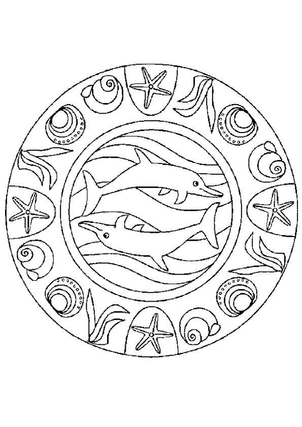 Coloriage Hugo L Escargot Mandala