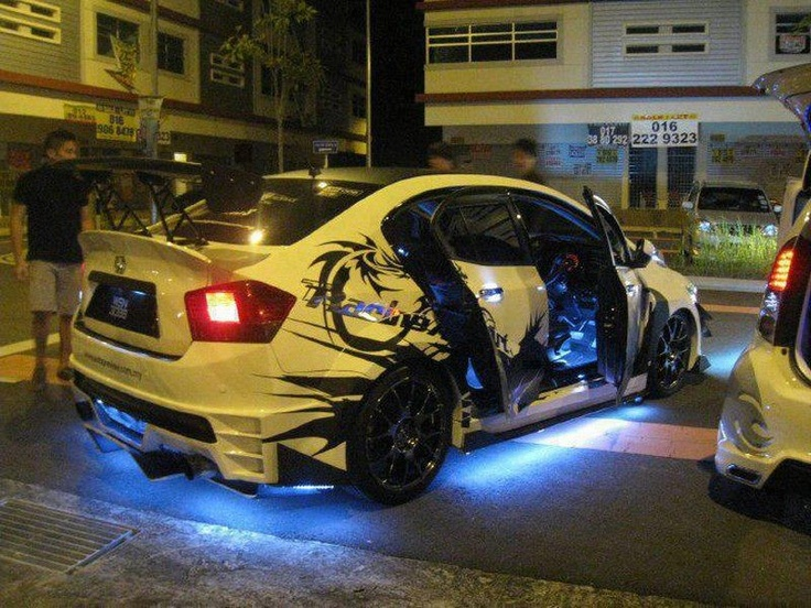 Modified Car  Zoom Zoom  Pinterest  Honda, Modified Cars and Cars