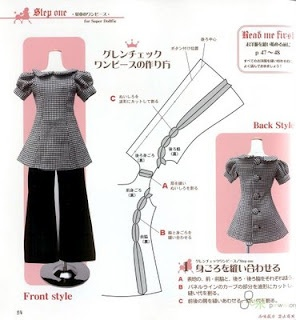 DIY Dolls Outfit Pattern PART 1