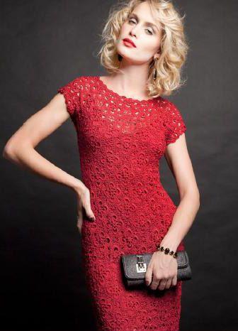 vestido a crochet Giovana Dias