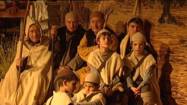 Le spectacle de la crèche vivante jusqu'au 30 décembre à Sainte-Anne-d'Auray. © P.Queyroux