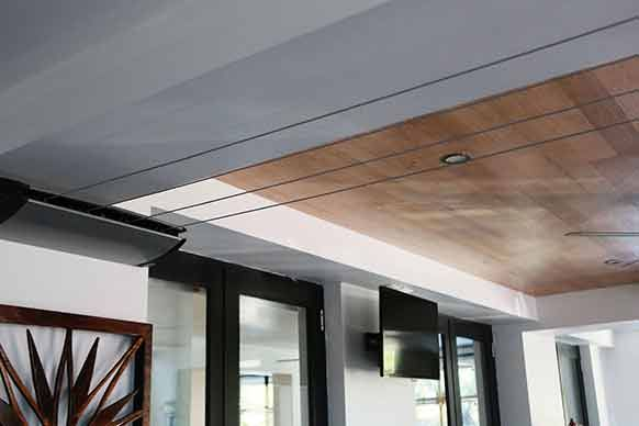 Pictures from Alisa and Lysandra's renovated apartment. - feature timber ceiling