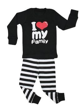 I Love Family Pajama Set from BedHead PJs & More for Baby & Kids on Gilt