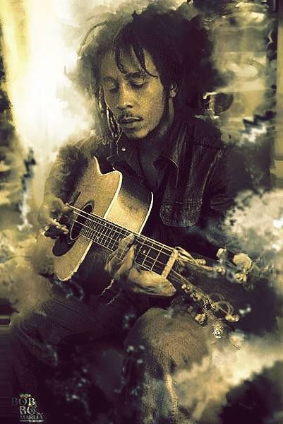 BOB MARLEY died 36 years to young a man and his band who brought people together. Very much missed!!!!
