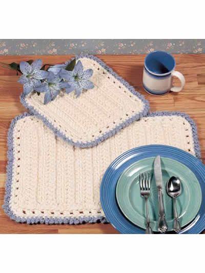 25 Best Ideas About Crochet Placemat Patterns On