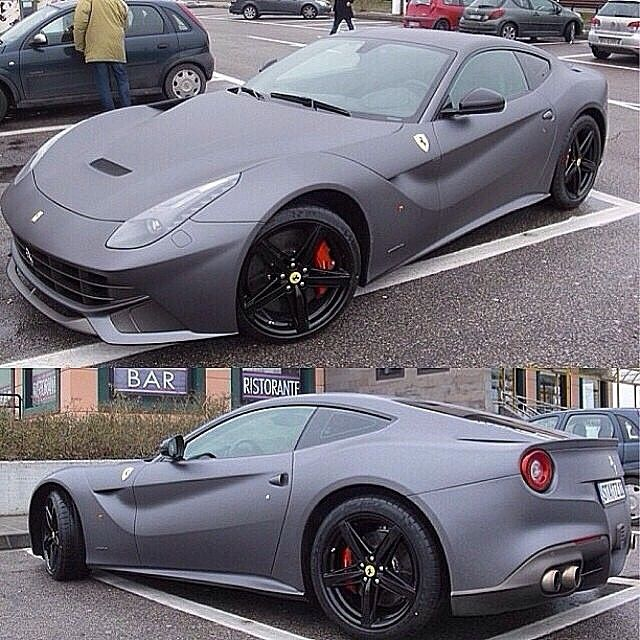 2014 Ferrari F12berlinetta, 2013 Ferrari F12berlinetta, #Ferrari #LaFerrari #FerrariPortofino #Berlinetta Grey, Image - Follow #extremegentleman for more pics like this!