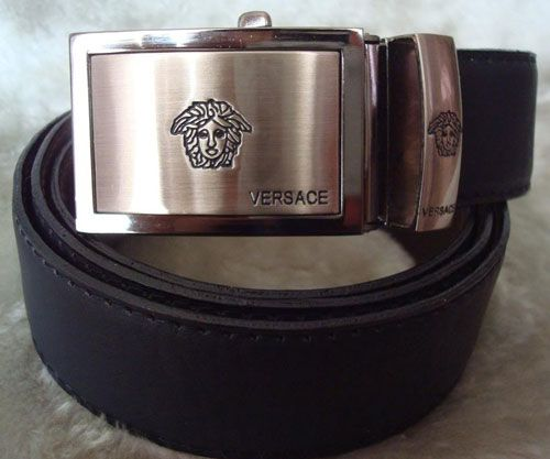Versace Men's Belt. I'm sure I could find something to wear with this.