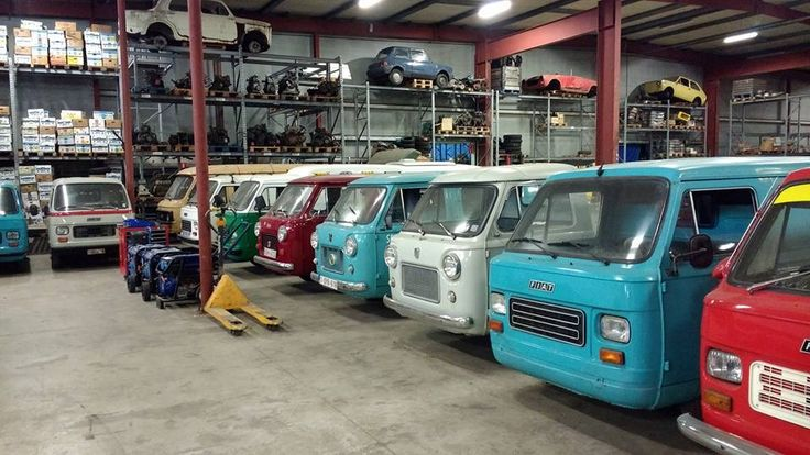 Fiat 850t en Fiat 900t Mini vans