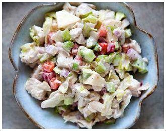 #kotosalata #yogurt #chicken #salad