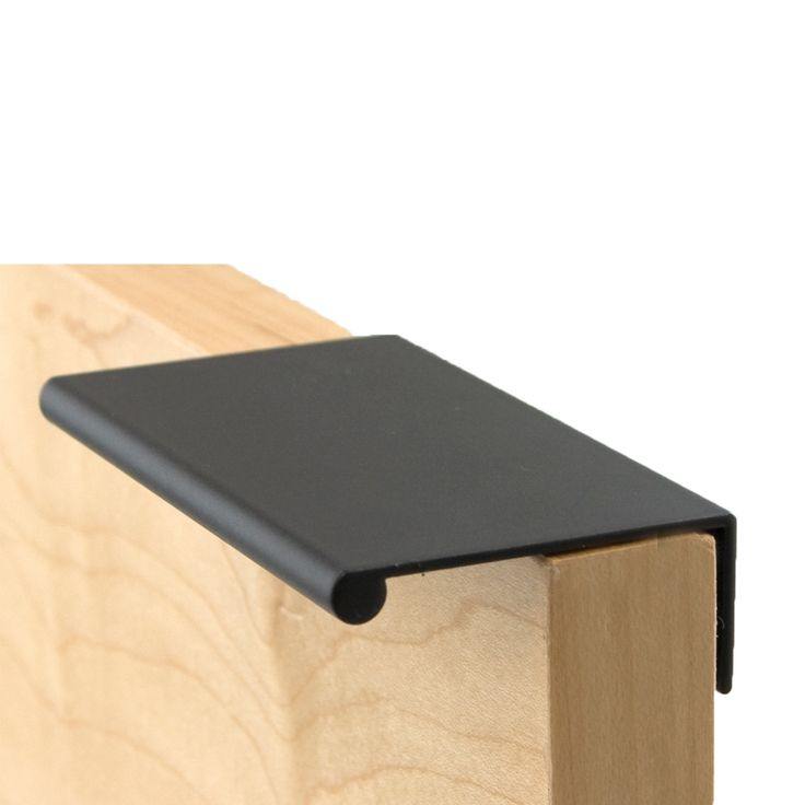 Finger Pull Long Satin Black ( By Berenson. Find This Pin And More On Top Cabinet  Hardware Knobs ...