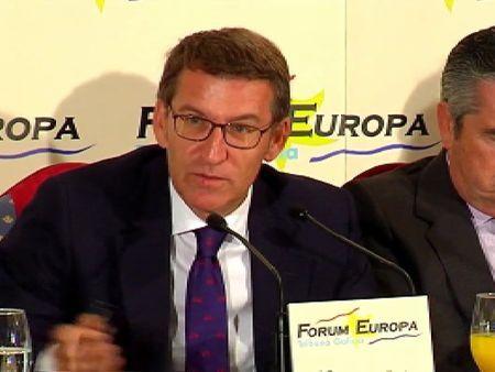 Galicia Galicia Feijóo dice que Beiras y Romeu son rivales más difíciles que los…