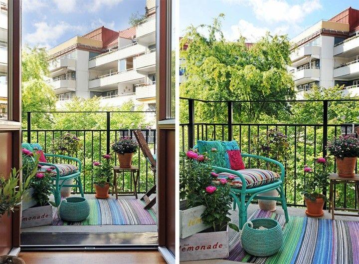 balcones y terrazas de diseño moderno