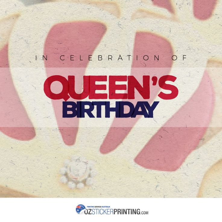 In celebration of Queen's Birthday, we at OZ Sticker Printing will be closed on Monday, June 12. Business resumes on Tuesday, June 13. Have a long weekend Aussies!