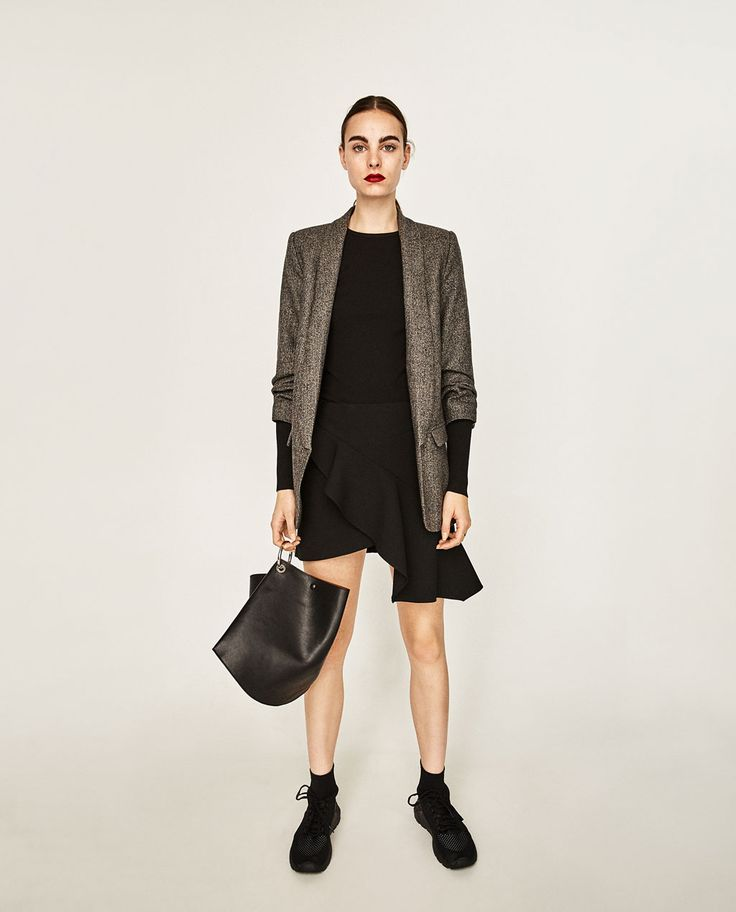 Image 1 of ROLL-UP SLEEVE JACKET from Zara