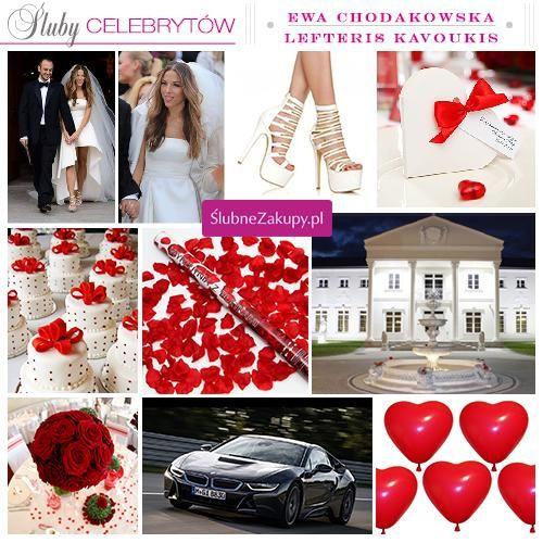 Śluby celebrytów: Ewa Chodakowska i Lefteris Kavoukis #slub #wesele #sklepslubny