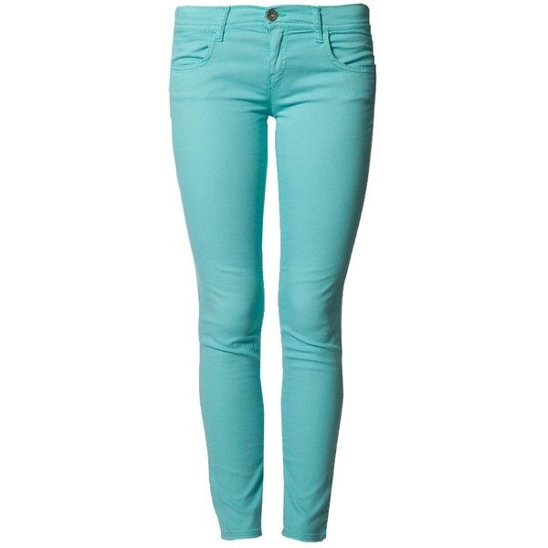 Benetton Leggings turquoise ❤ liked on Polyvore featuring pants, leggings, jeans, turquoise leggings, blue pants, turquoise pants, blue trousers and benetton