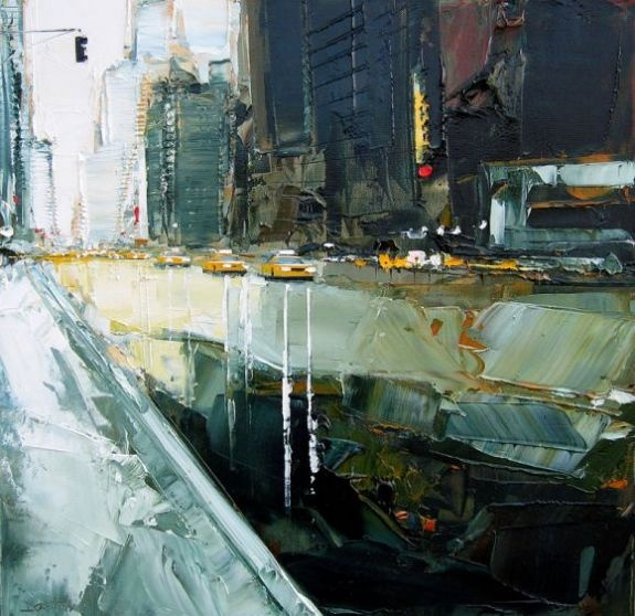 Daniel Castan: Cityscapes, Artists, Acrylic Paintings, New York Cities, Art Inspiration, Danielcastan, Daniel Castan, Castan Paintings, Acrylics Paintings