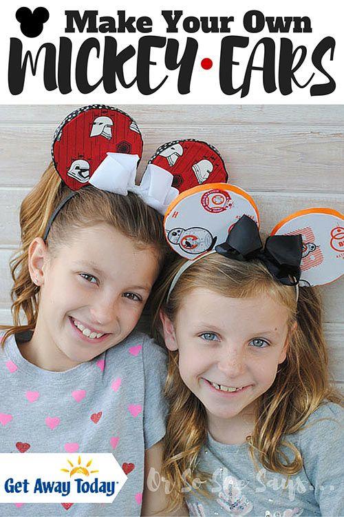 DIY Mickey Ears (she: Adelle)