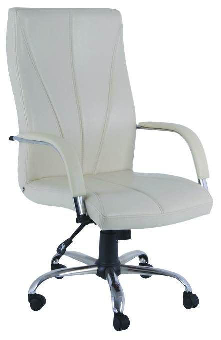Oturma yapısına uygun yönetici koltuğu krom ayaklı bütünleşik sağlam iskelet yapısıyla yıllarca kullanabileceğiniz garantili ofis koltukları star serisi. Kavisli dikişleriyle ergonomik yapısıyla star yönetici koltuğu.