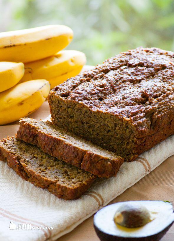 Avocado Chia Banana Bread: Chia Seeds, Agave, Food, Bananas, Avocado, Banana Bread, Breads, Healthy Recipes