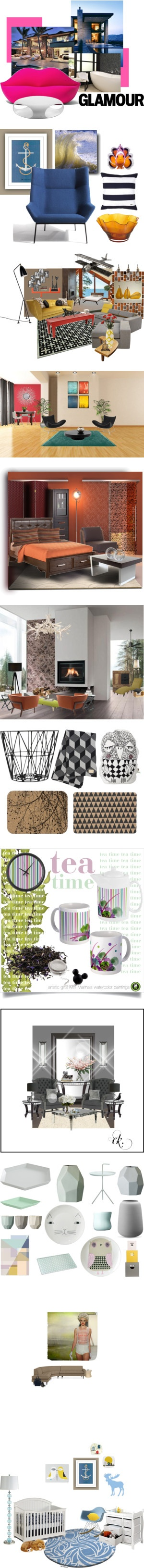 """""""Top Interior Design Sets for Feb 15th, 2013"""" by polyvore ❤ liked on Polyvore"""