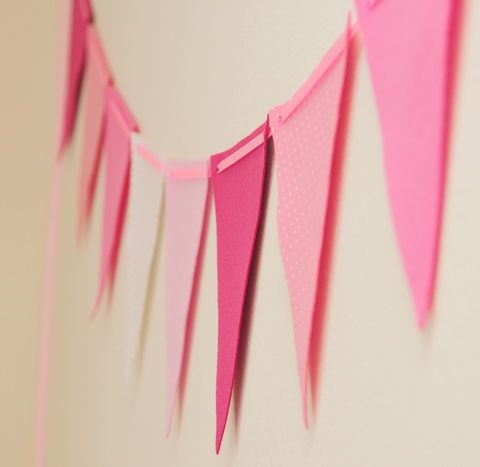 no-sew felt bunting flag - tutorial is in another language, but the pictures are easy to follow.
