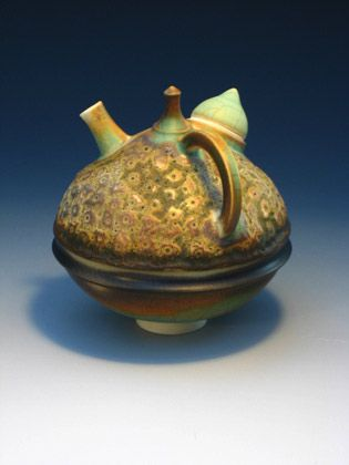 Ceramics by Geoffrey Swindell at Studiopottery.co.uk - Teapot - 10cm