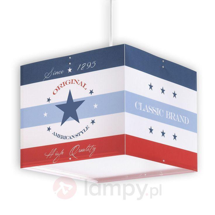 W trzech kolorach - lampa wisząca American Style 2507329
