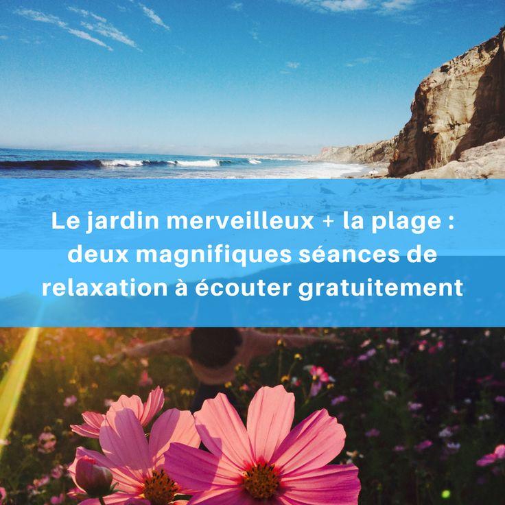 """Cette première séance de relaxationa pour thème le """"Jardin Merveilleux"""". Elle est guidée par l'excellent Jean Doridot. Apaisementassuré.    Idéal avant de se coucher ou pour chasser le stress de la journée. :)        https://youtu.be/E8n281Q-l0E        Vous préférez la plage ?    https://youtu.be/SIJPT-y70l4"""