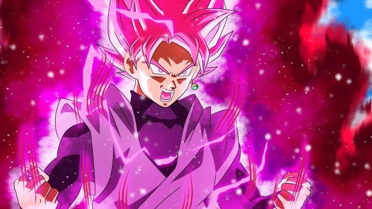 Goku Black Super Saiyan Rose DBS Anime Wallpaper
