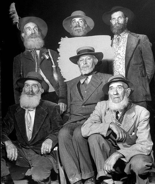 Six Old Boers, Looking more Like their Voortrekker Ancestors..   Flickr - Photo Sharing!