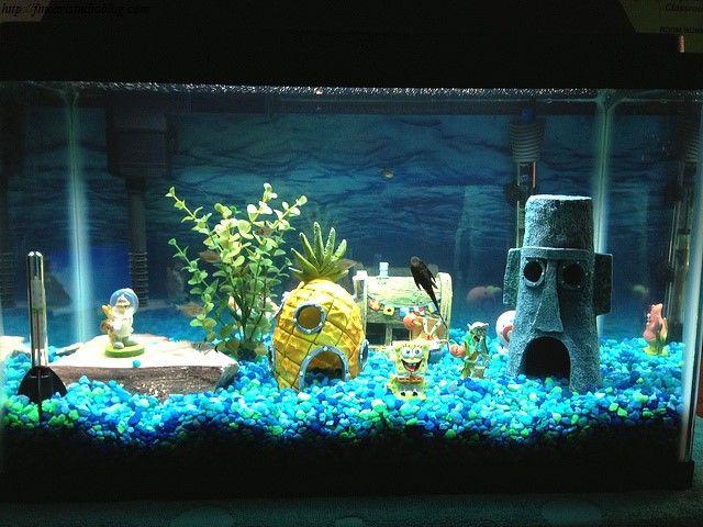 [+] Fish Tank Decor