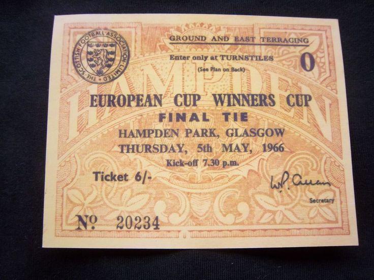 Ticket   EC 2  1965/66  FINALE  LIVERPOOL FC - BORUSSIA DORTMUND  !!  SELTEN  | eBay