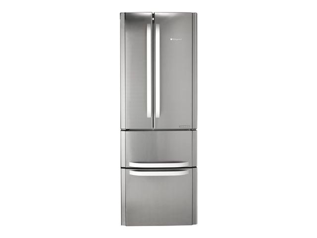 Hotpoint Quadrio FrenchDoor Fridge Freezer Stainless