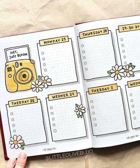 Organisieren Sie das Leben mit Bullet Journal-Ideen. Probieren Sie es aus. Dann …