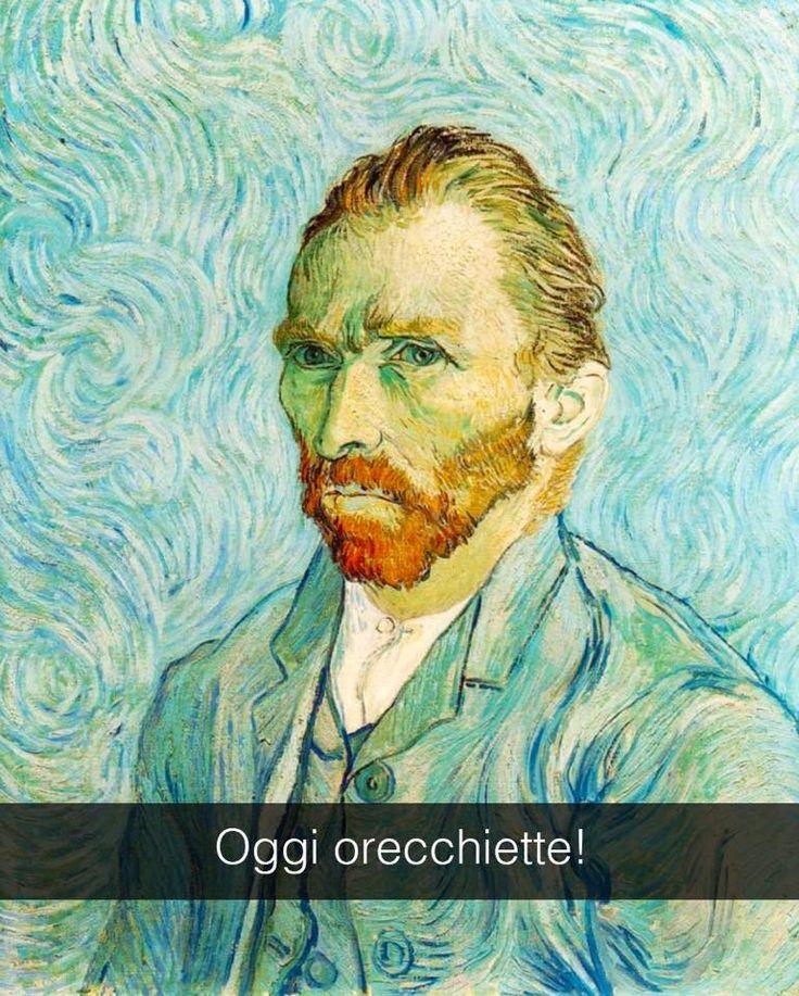 """Van Gogh . """" Autoritratto """""""