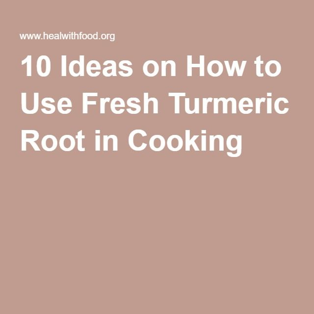 How is turmeric used in cooking?