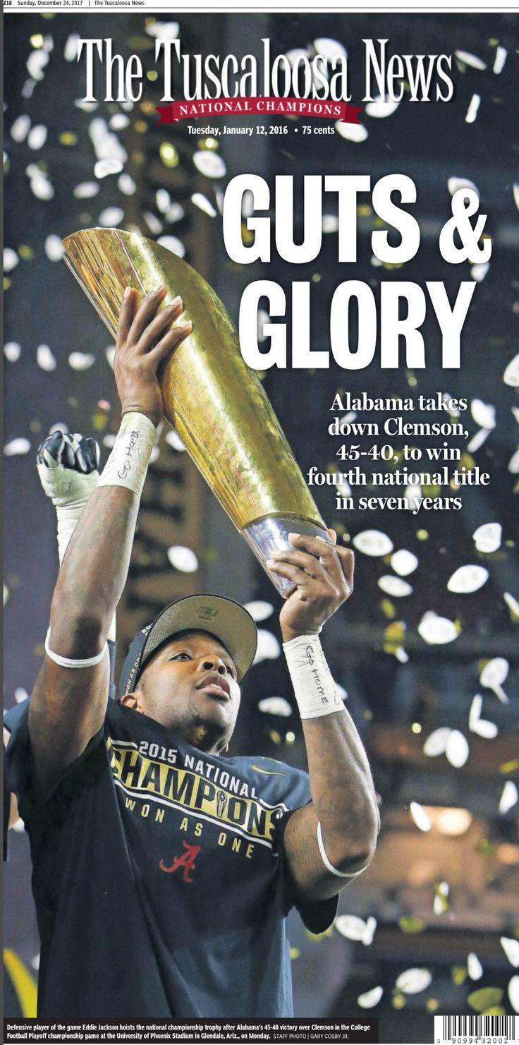 Alabama 2015 National Championship