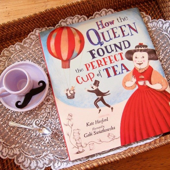 Roll out the red carpet and get ready to curtsy: The QUEEN has just landed and she's brought TEA! If you're thinking this new picture book has my name written all over it, you're …