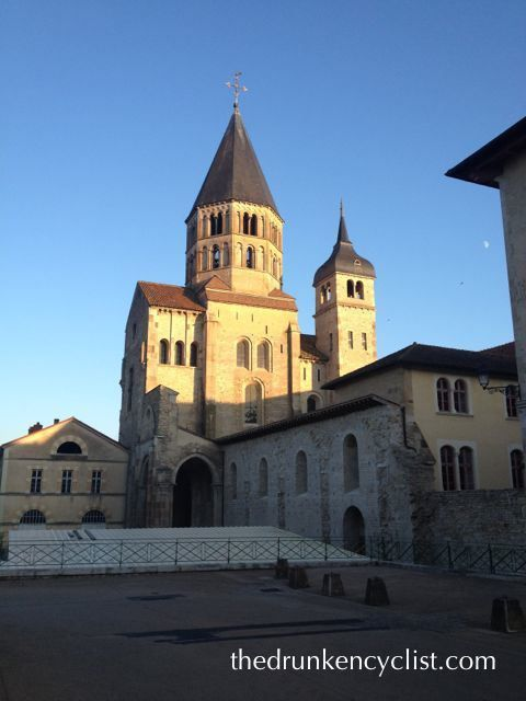 ...then the abbey at Cluny.