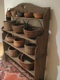 vintage basketsVintage Baskets, Summer Picnic, Country Baskets, Baskets Display, Primitives Baskets, Antiques Baskets, Baskets Shelf, Baskets Cases, Display Baskets